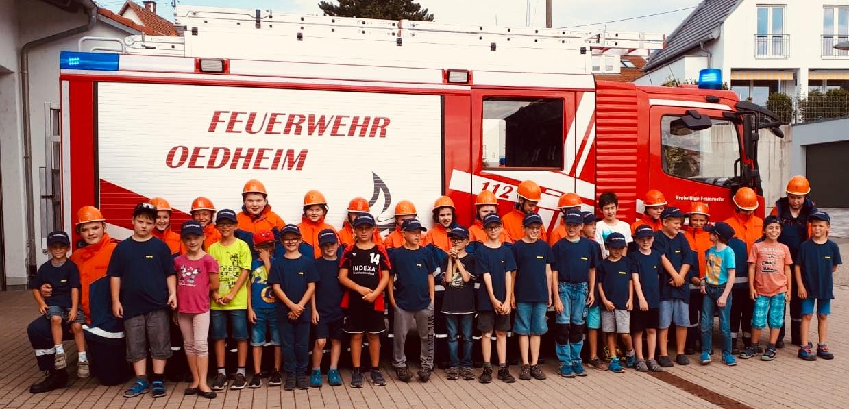 Jahresrückblick 2018 Jugendfeuerwehr Oedheim Feuerwehr